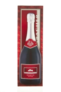 VELSECCO extra trocken 0,75 Liter Flasche im Geschenkskarton
